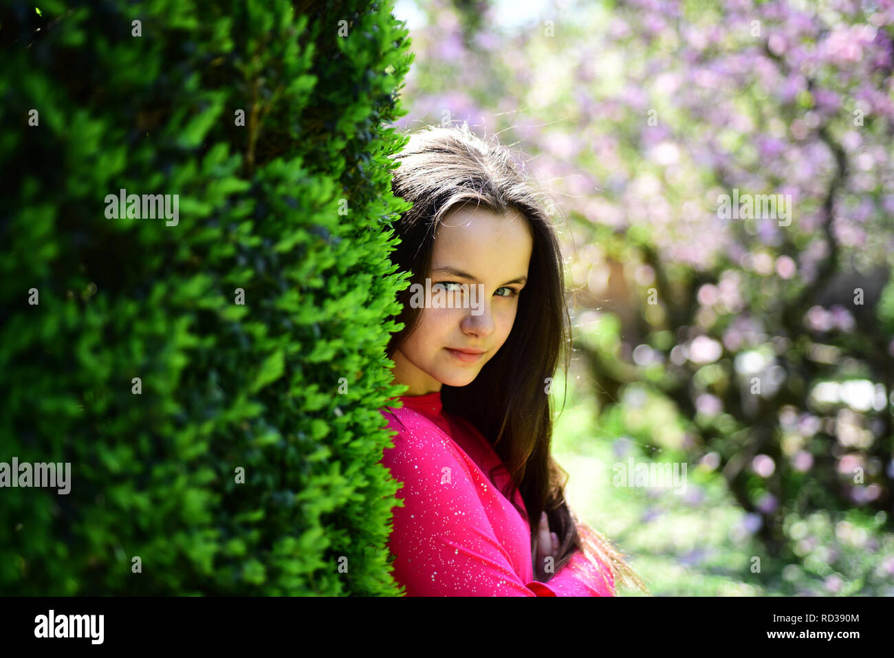 Beautiful Freshness Young Lady In Spring Garden Cute Girl On Spring Nature Pretty Girl With Young