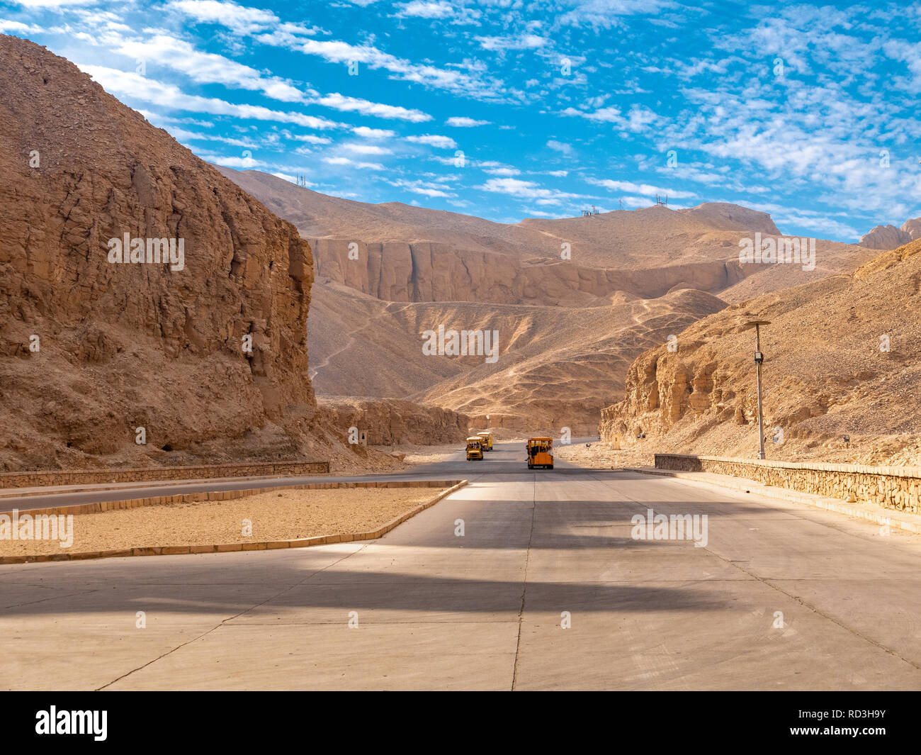 Valley of The Kings Luxor Egypt - Stock Image