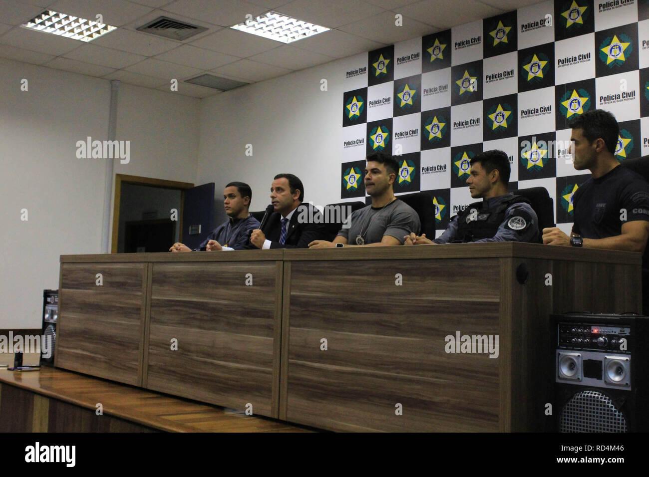 RJ - Rio de Janeiro - 17/01/2019 - Press conference - Operates to