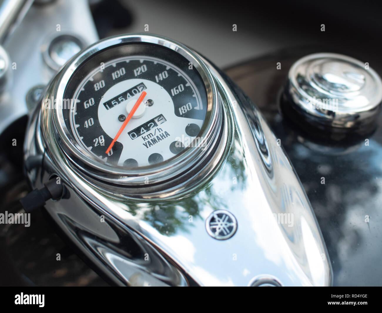 Yamaha Motorcycle Stock Photos & Yamaha Motorcycle Stock
