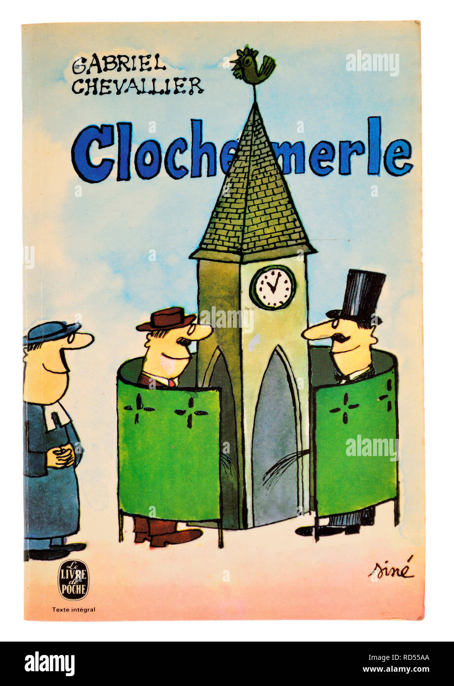 Clochemerle (Gabriel Chevalier: 1934) paperback book cover - Stock Image
