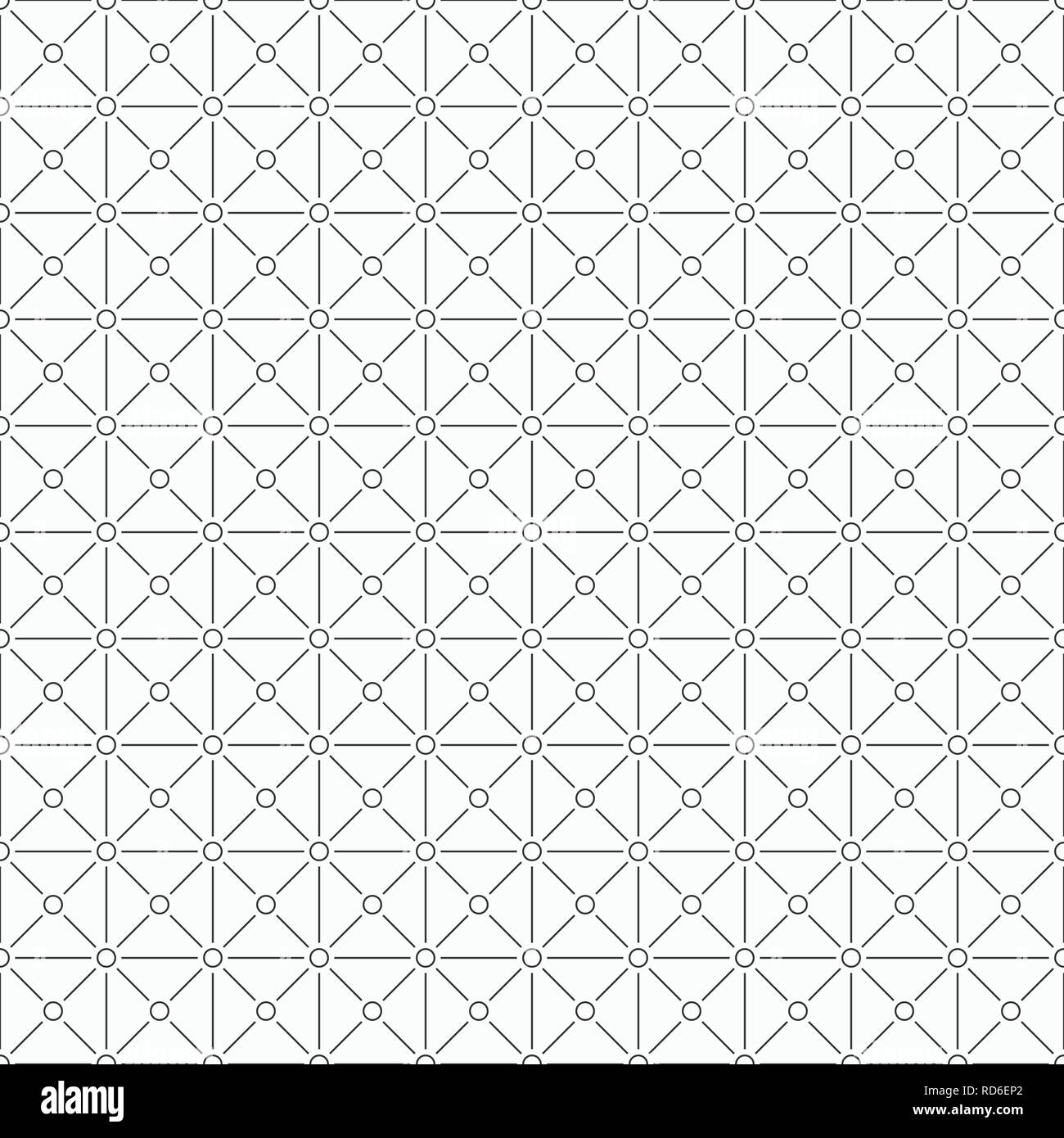 Vector seamless pattern  Repeating geometric background with