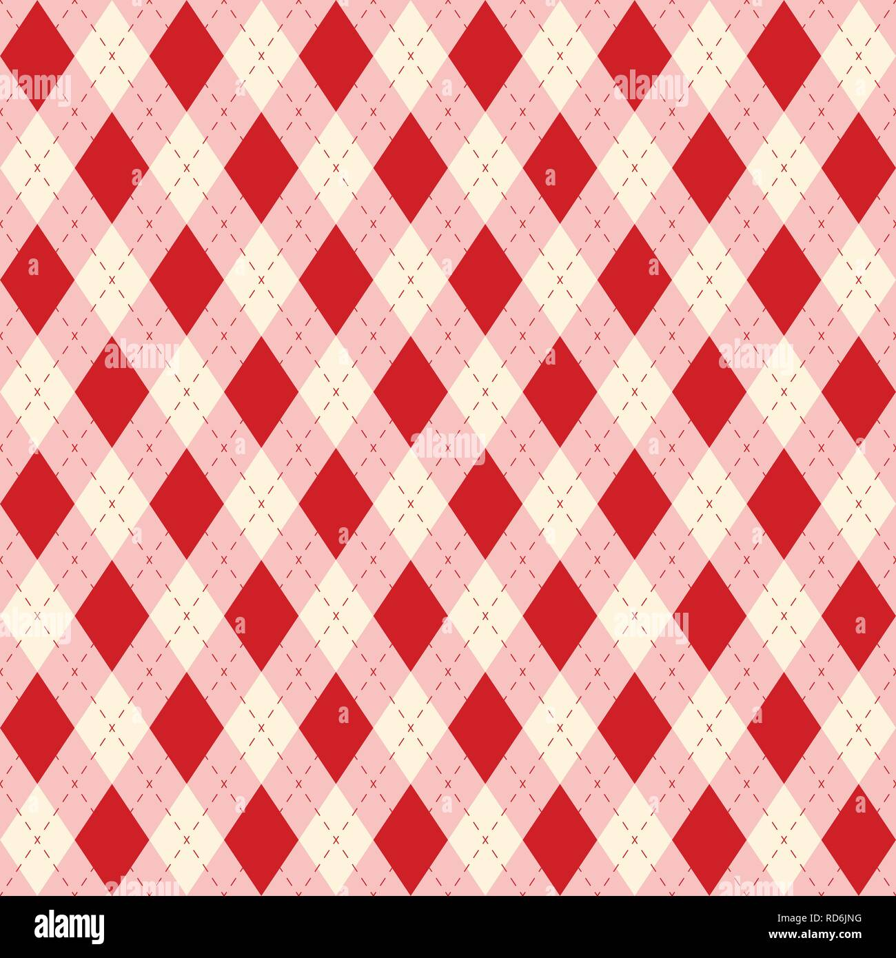 Seamless color rhombuses pattern/ texture for home decorating, Thanksgiving, napkins, tablecloths, picnics, arts, crafts and scrap books. Seamless fab - Stock Vector