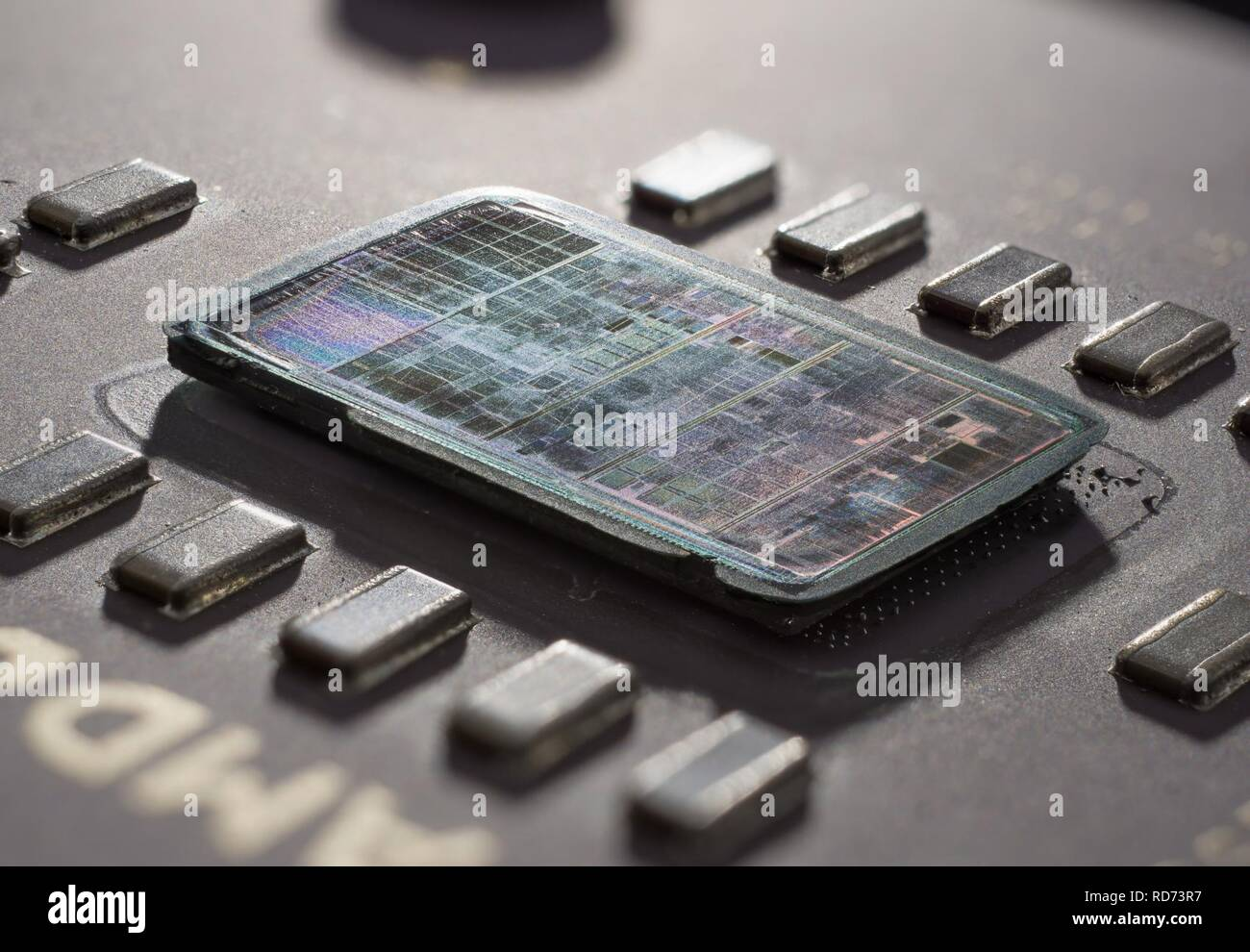 Amd Athlon K7 Thunderbird A0900amt3b Affa 0031rpbw Stack Stock Photo Alamy