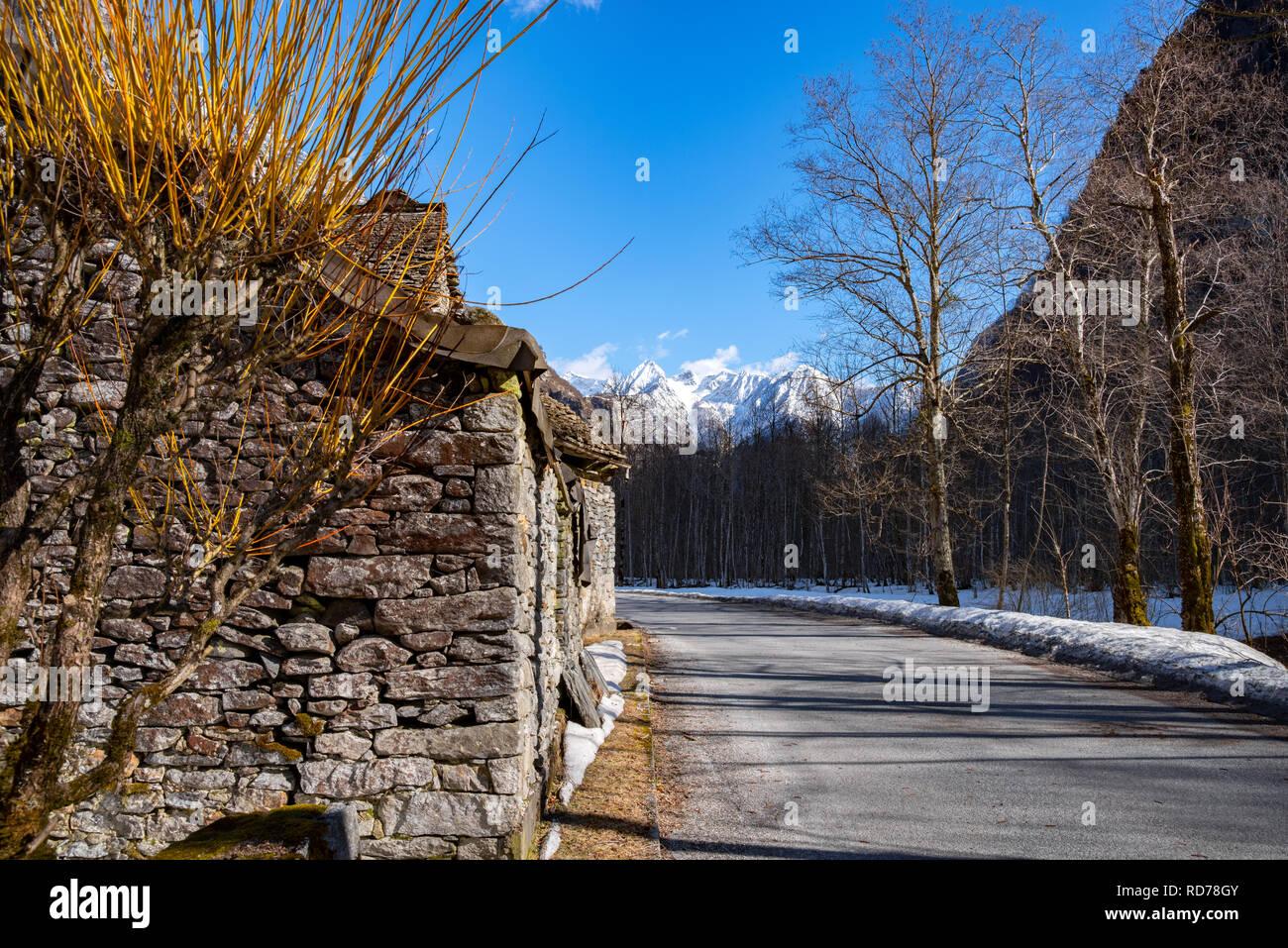 Europe, European Alps, Swiss Alps, Switzerland - Stock Image