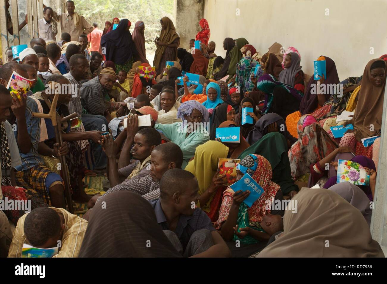 AMISOM Outpatients Department (6246185009). - Stock Image