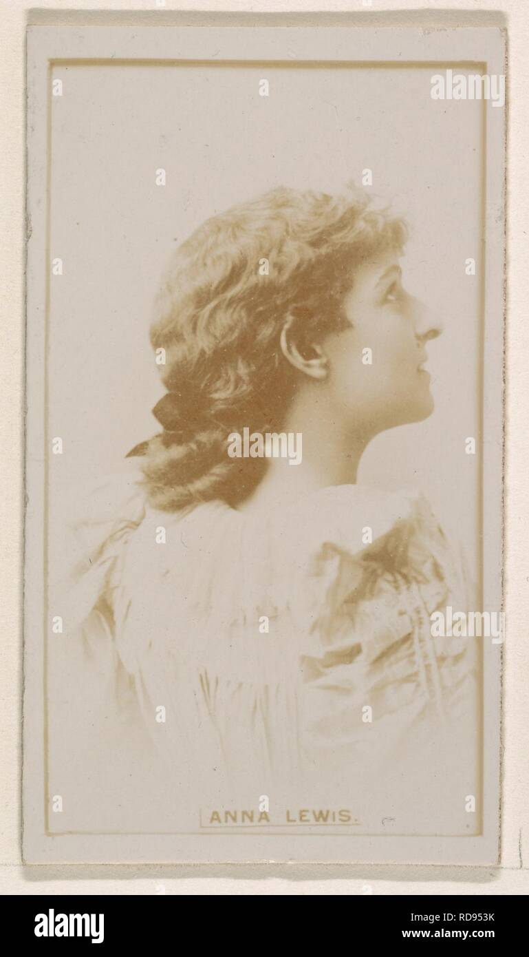 Anna Lewis anna lewis, from the actresses series (n245) issued