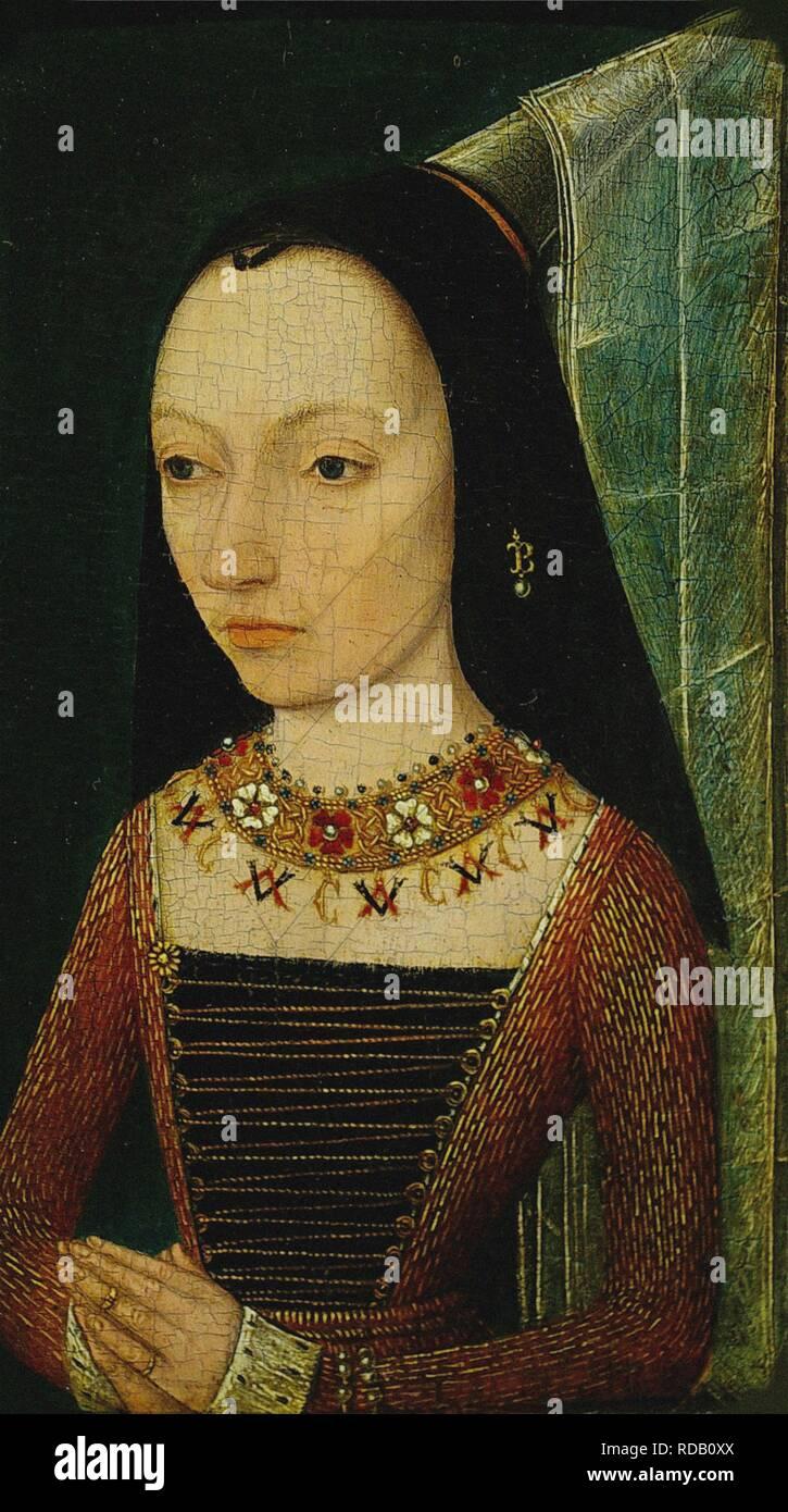 Portrait of Margaret of York (1446-1503), Duchess of