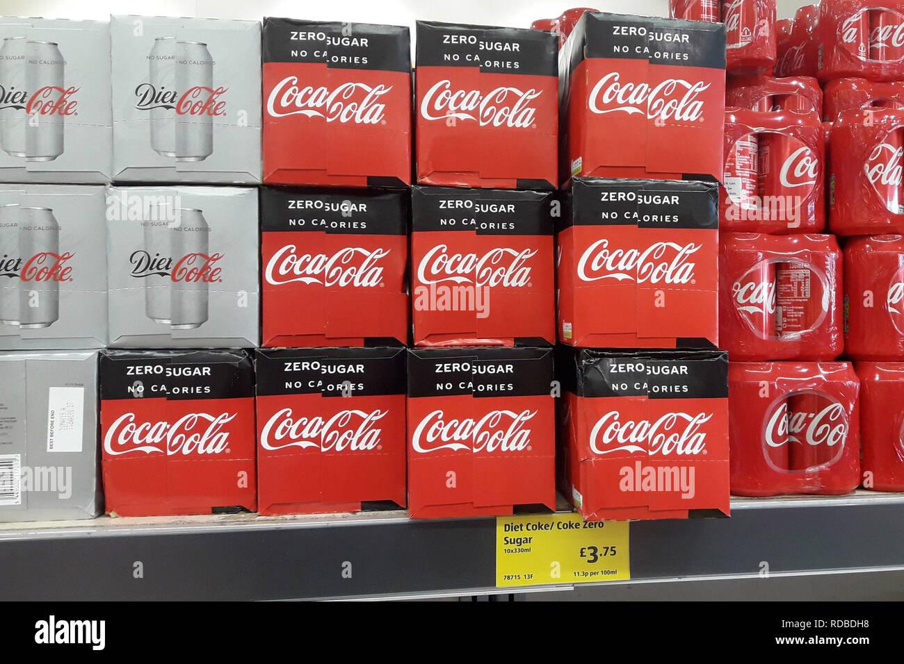Coke Zero Stock Photos & Coke Zero Stock Images - Alamy