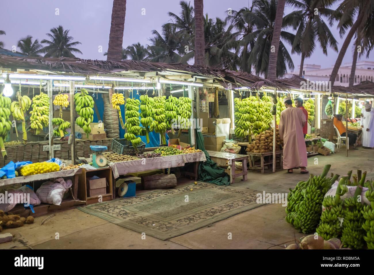Salalah Oman Market Stock Photos & Salalah Oman Market Stock