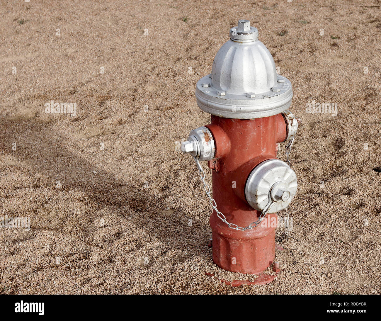 Fire hydrant in Alpine, Texas - Stock Image