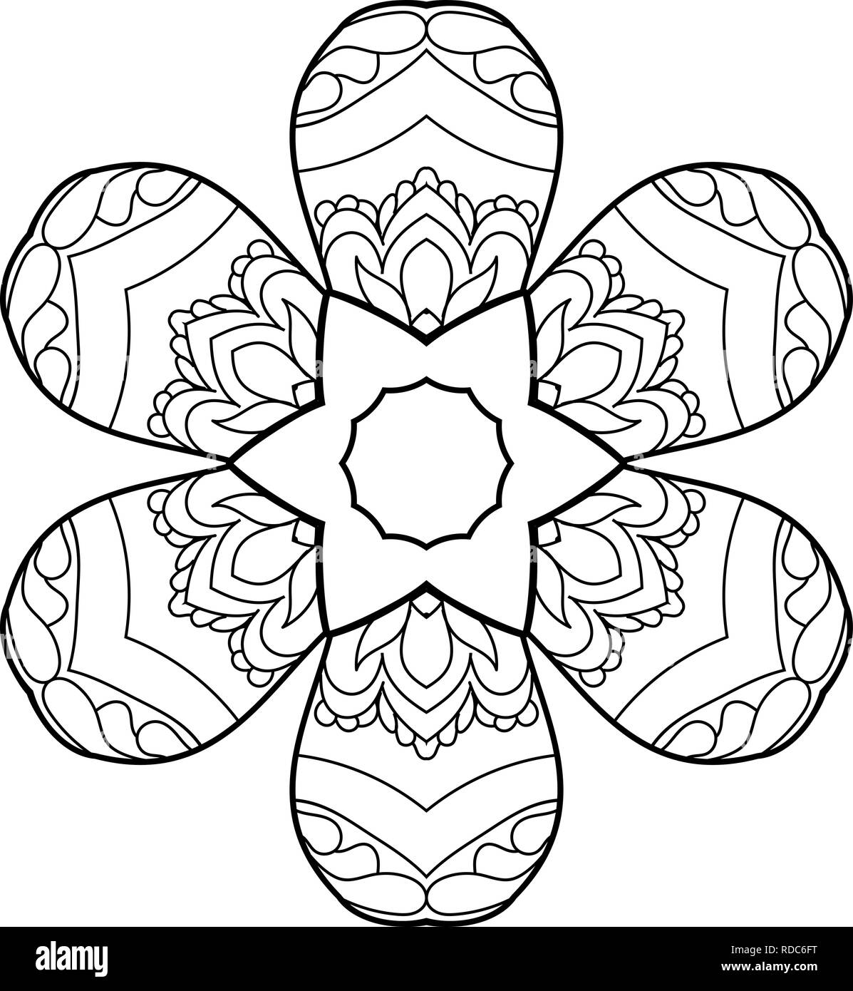 the black and the white stock photos the black and the white stock  coloring book for adult and older children coloring page with cute owl and floral frame