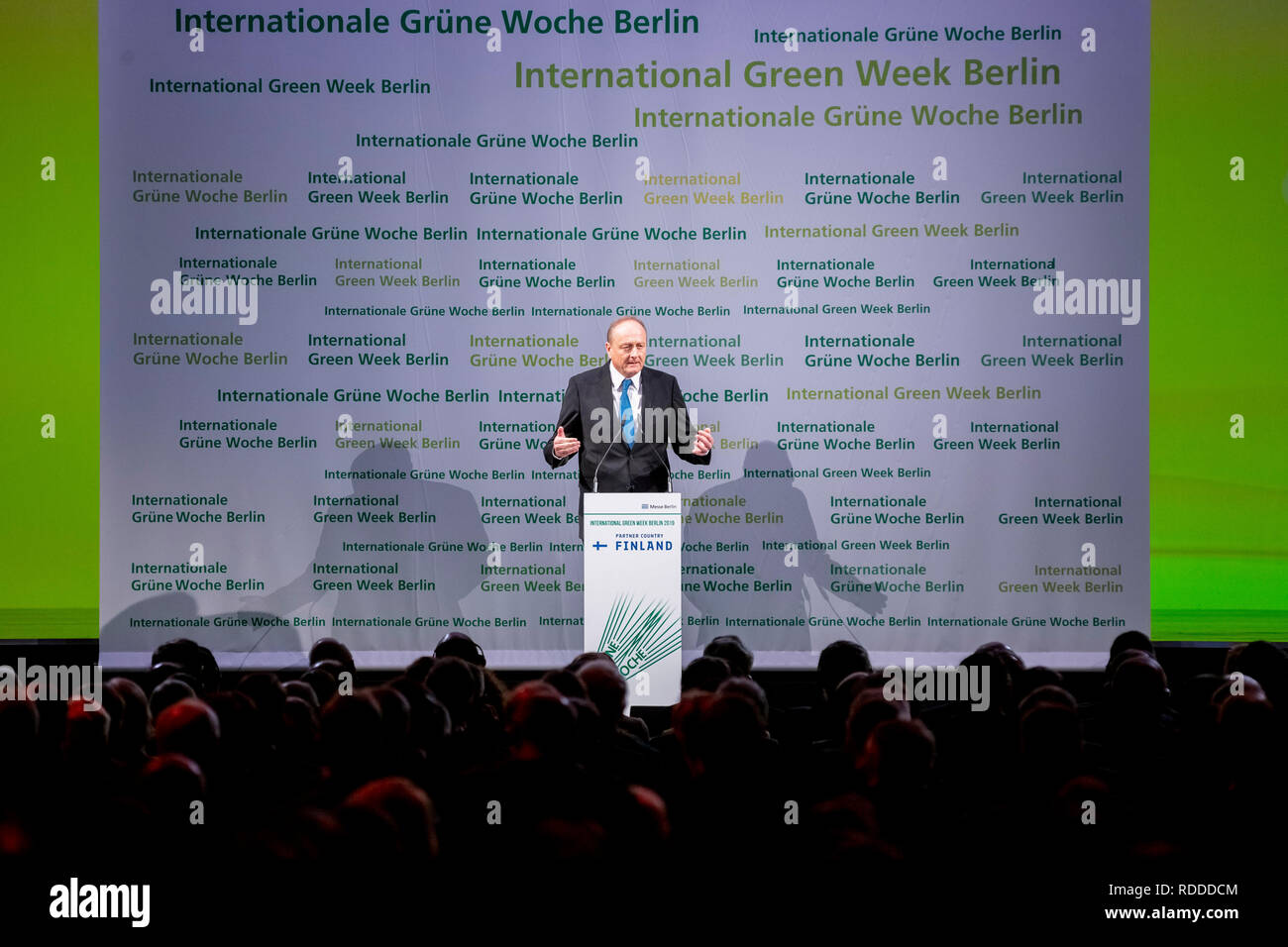 Berlin, Germany  17th Jan, 2019  Joachim Rukwied, President of the