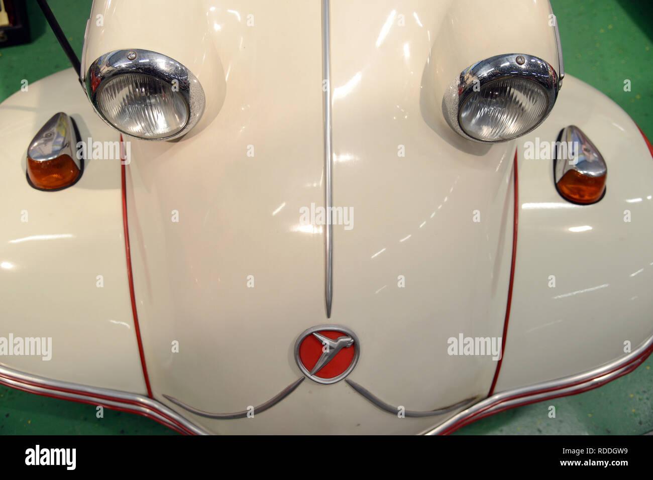 Trade Motorcycle For Car >> St Ingbert Germany 14th Jan 2019 A Messerschmitt A