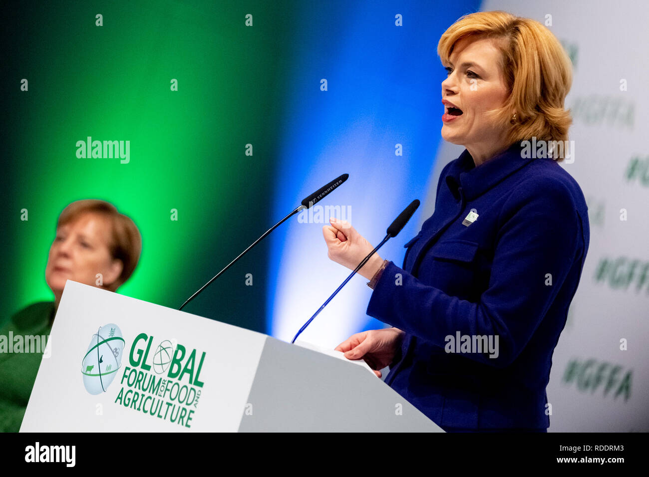 Berlin, Germany  18th Jan, 2019  Julia Klöckner (CDU, r), Federal