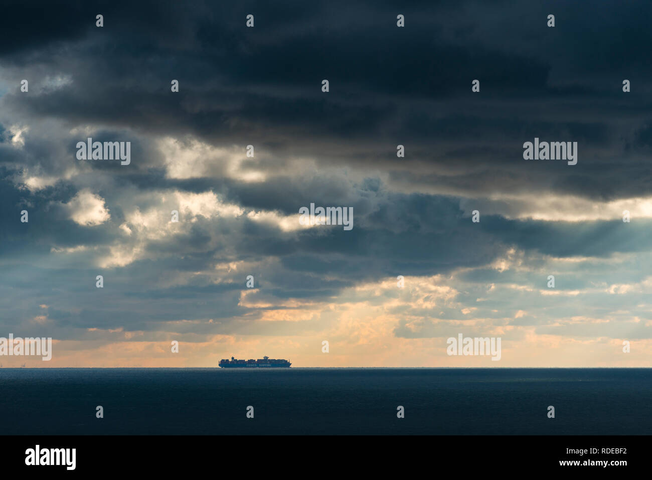Deutschland, Pinneberg, Insel, Nordsee, Helgoland - Stock Image
