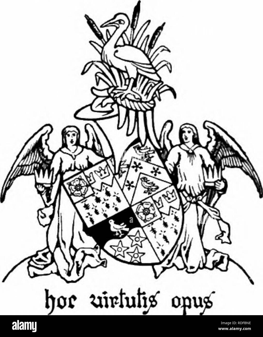 """. The Victoria history of the county of Hertford. Natural history. A HISTORY OF HERTFORDSHIRE connexion with Knebworth ceased, for in that year Robert Lytton came of age and received his in- heritance."""" Upon Robert's death without male heirs Knebworth passed by will to his brother Rowland,"""" whose son Rowland inherited it in 1582."""" William Lyttoa, son of the second Rowland, succeeded to Knebworth at his father's death in 1615,"""" and held it until 1660, when he was succeeded by his son, another Rowland.67 William son of Sir Rowland Lytton inherited the manor in 1674, and died  - Stock Image"""