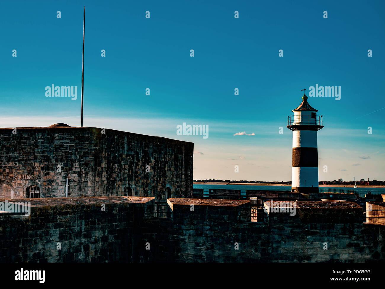 Southsea Light House 2019 - Stock Image