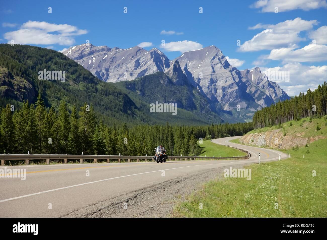 Route 40 Scenic Highway Alberta - Stock Image