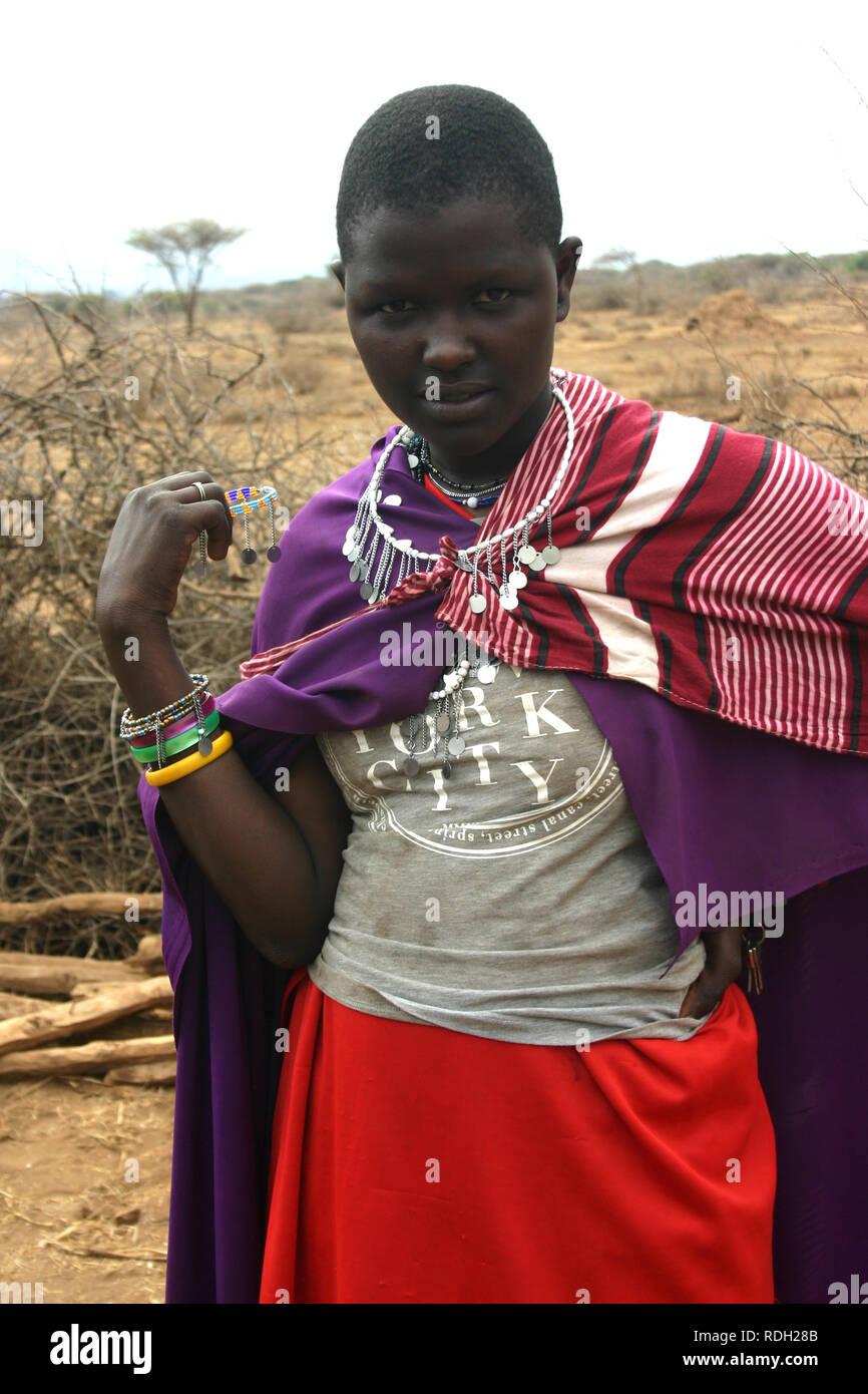 Masai - Stock Image