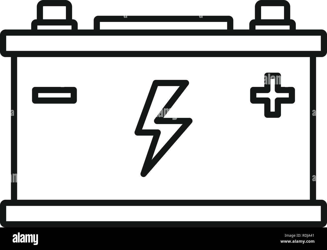 The Best Car Battery Vector