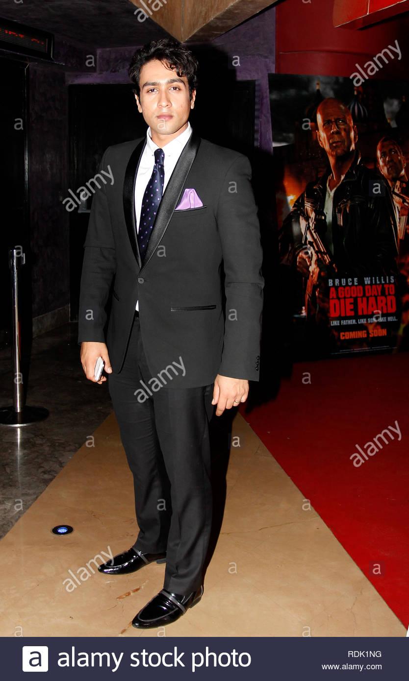 Bollywood Actor Adhyayan Suman During The Premiere Of Film Dehraadun Diary In Mumbai India On