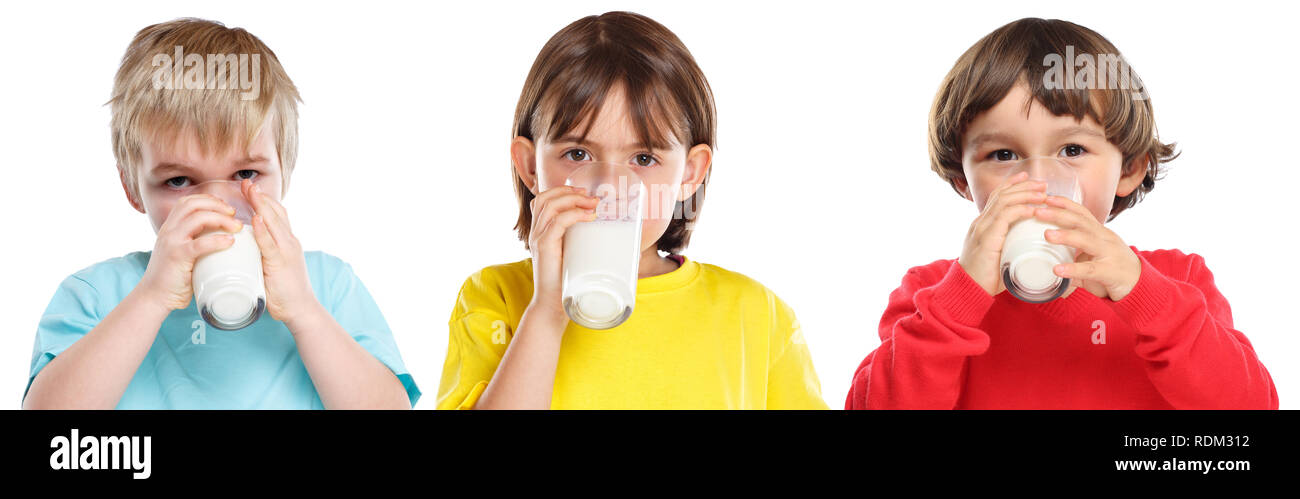 Little Girl Drinks Milk Stock Photos & Little Girl Drinks Milk Stock ...
