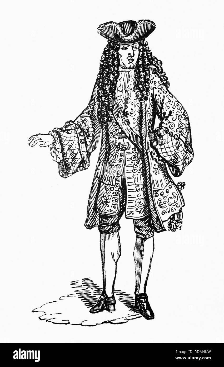 William III (1650-1702), also widely known as William of Orange, was sovereign Prince of Orange from birth, Stadtholder in the Dutch Republic from 1672 and King of England, Ireland and Scotland from 1689 until his death in 1702. He is sometimes informally known in Northern Ireland and Scotland as 'King Billy'. - Stock Image