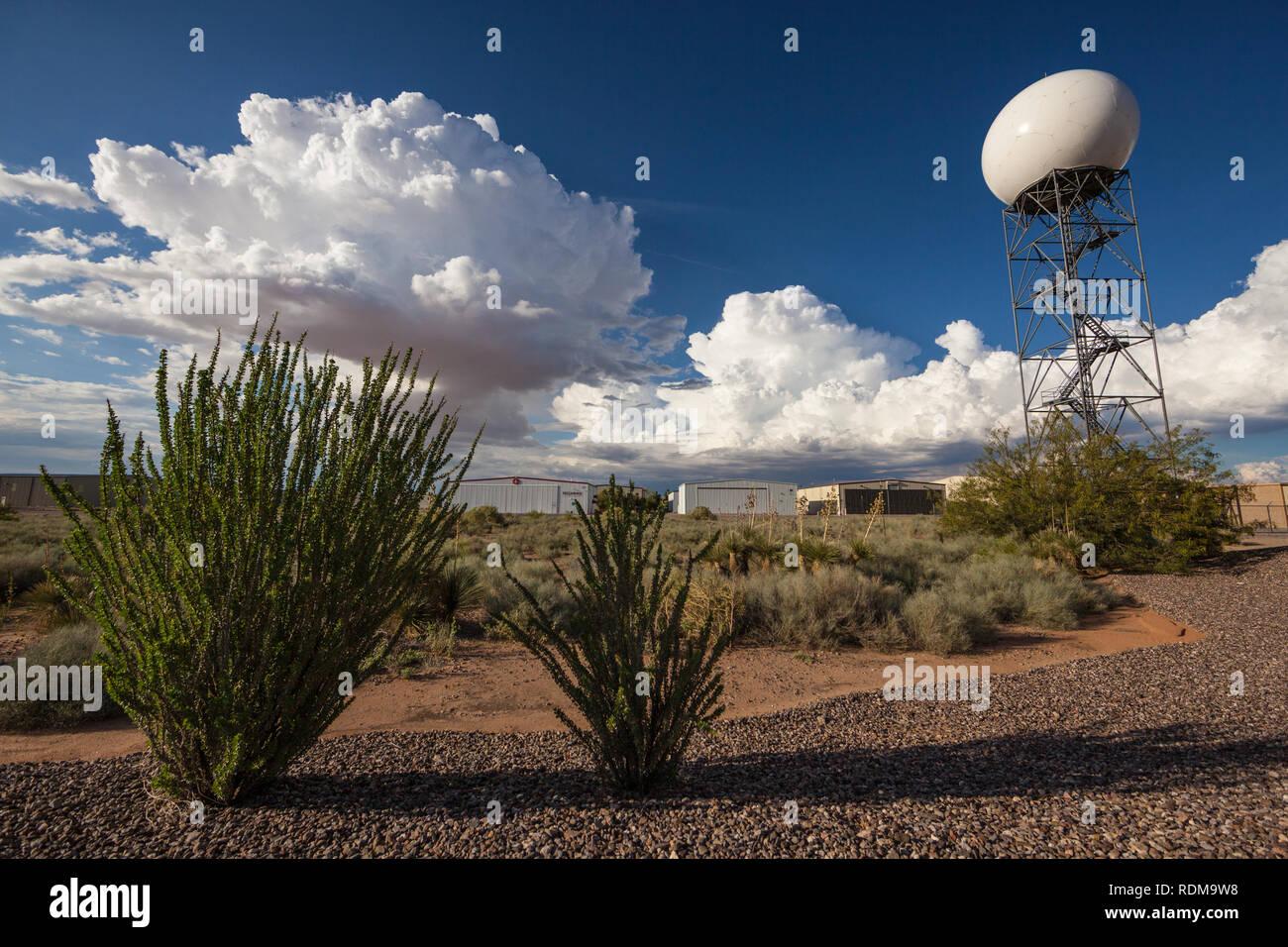 Weather Radar Tower Stock Photos & Weather Radar Tower Stock Images