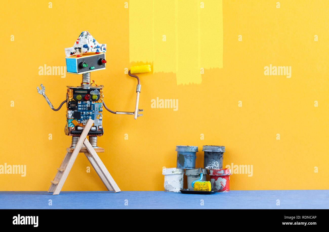 Painting Robot Stock Photos Painting Robot Stock Images Alamy