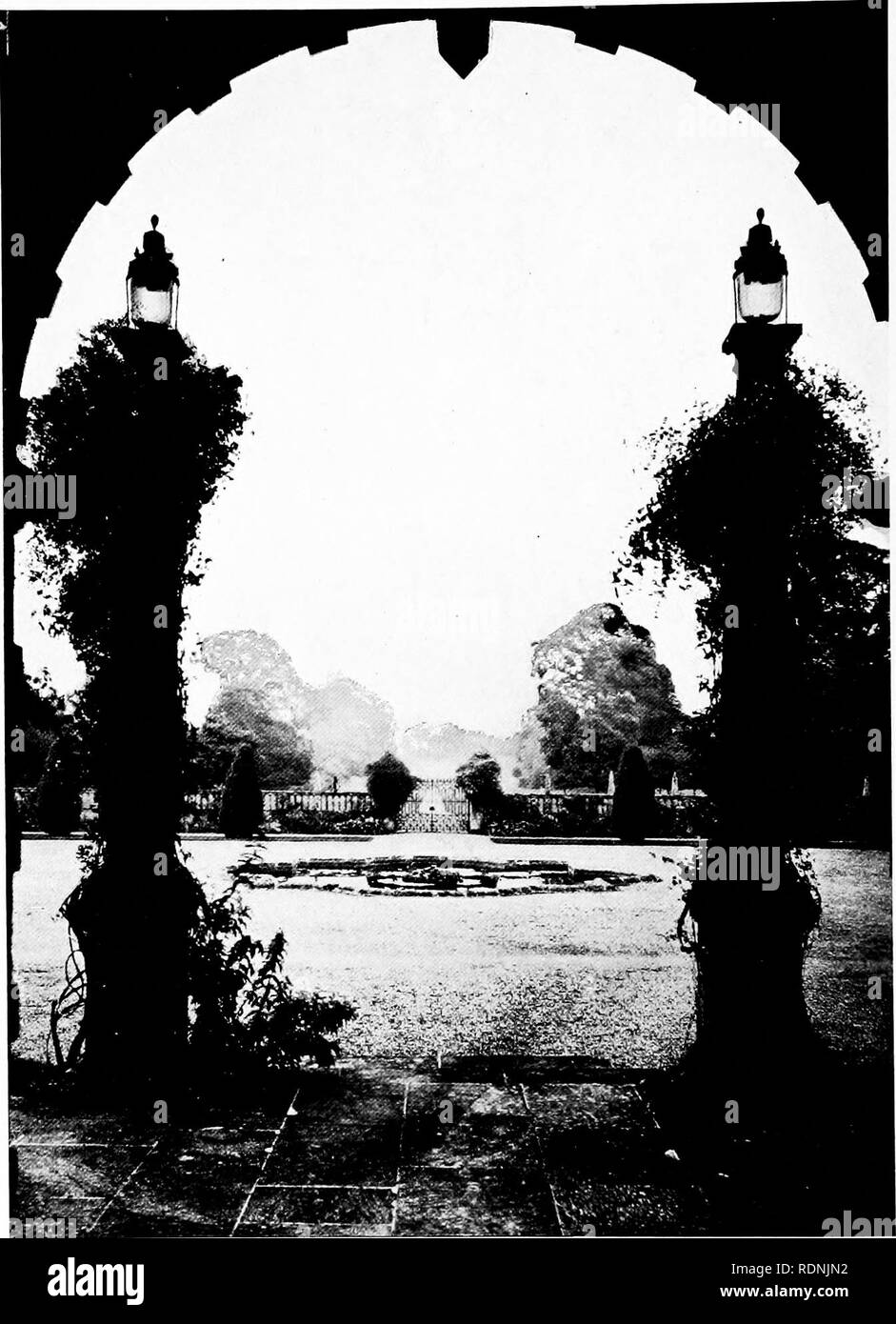 . European and Japanese gardens; papers read before the American Institute of Architects ... Gardens; Gardens. VIEW FROM MONTECUTE HOUSE. Please note that these images are extracted from scanned page images that may have been digitally enhanced for readability - coloration and appearance of these illustrations may not perfectly resemble the original work.. Brown, Glenn, 1854-1932; Hamlin, A. D. F. (Alfred Dwight Foster), 1855-1926; Sturgis, R. Clipston (Richard Clipston), 1860-1951; Howard, John Galen, 1864-1931; Honda, Kinkichiro?, 1850-1921. Philadelphia, H. T. Coates & Co. - Stock Image