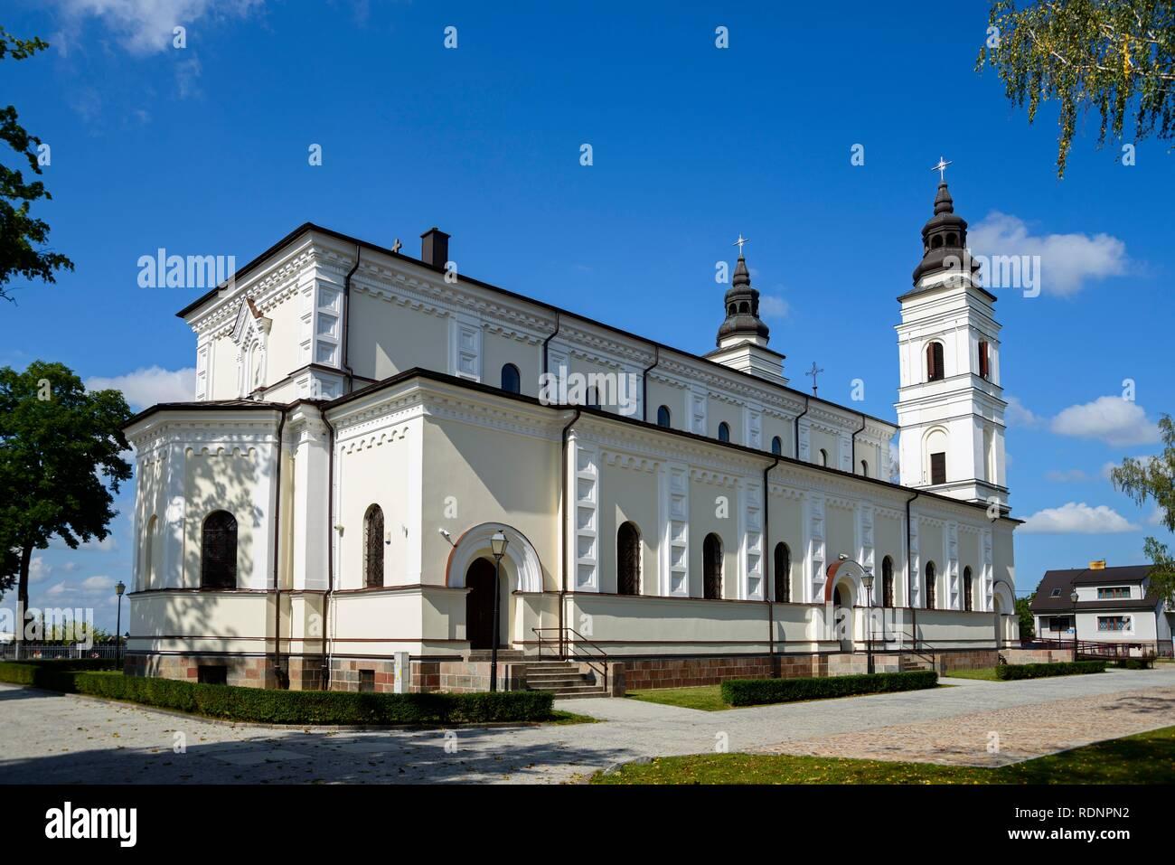Church, Suwalki, Podlaskie, Poland - Stock Image