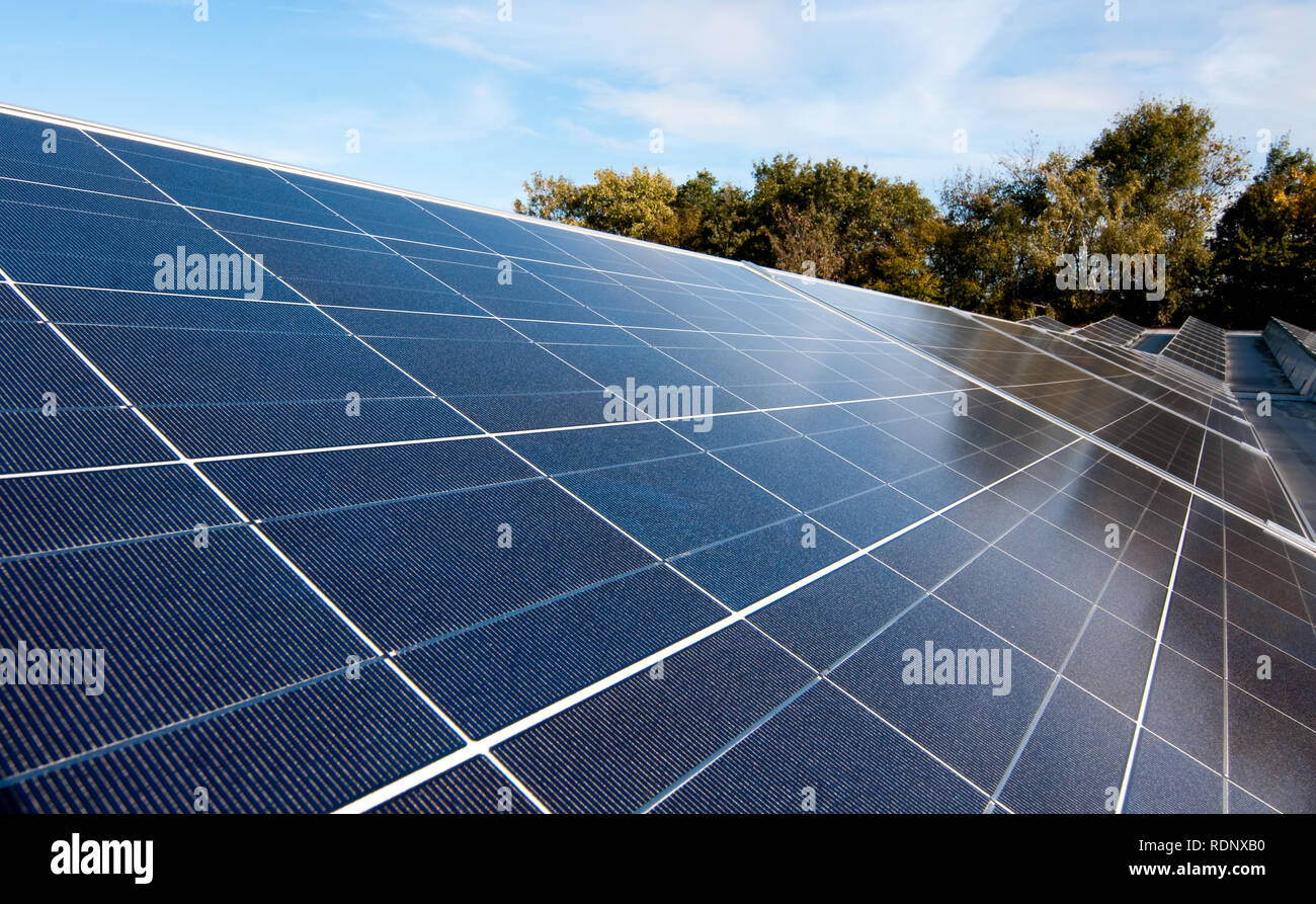Solar - Stock Image