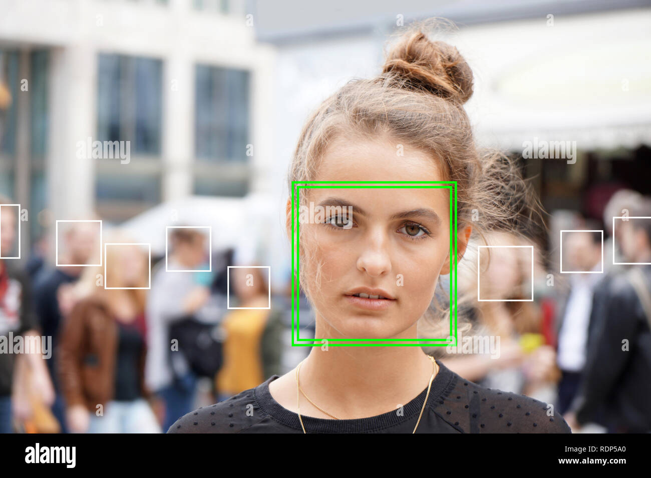 Face Surveillance Video Stock Photos & Face Surveillance Video Stock