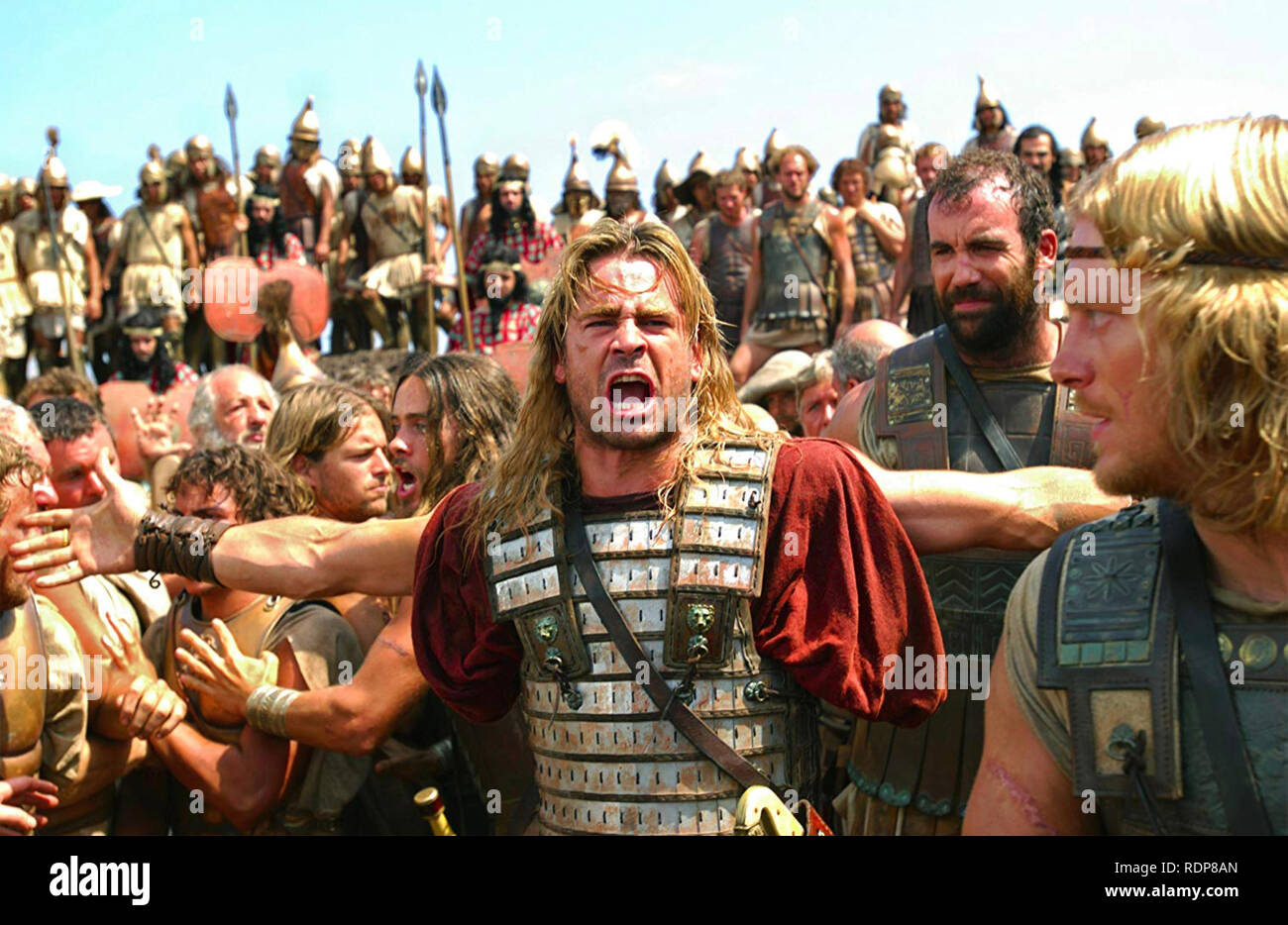 ALEXANDER 2004 Warner Bros film with Colin Farrell as Alexander the Great - Stock Image