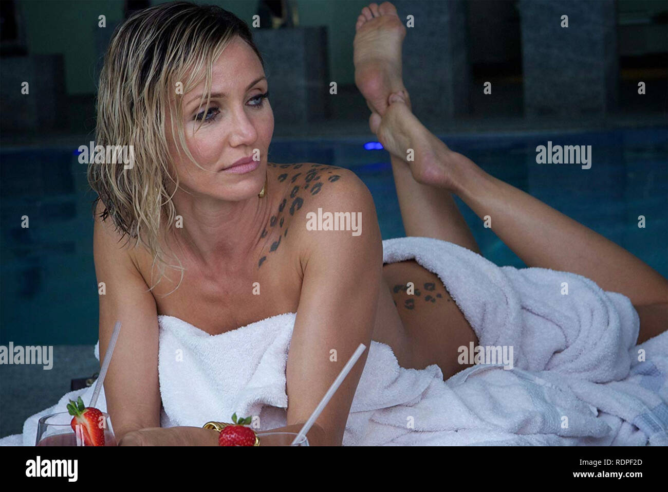 THE COUNSELLOR 2013 film with Cameron Diaz - Stock Image
