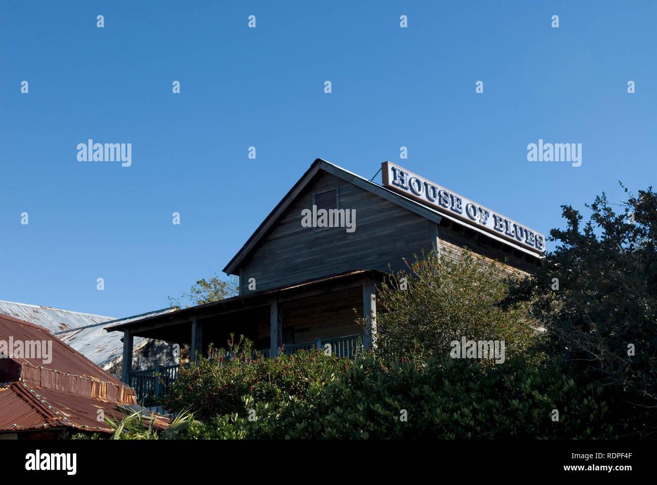House of Blues at Myrtle Beach South Carolina, USA. - Stock Image