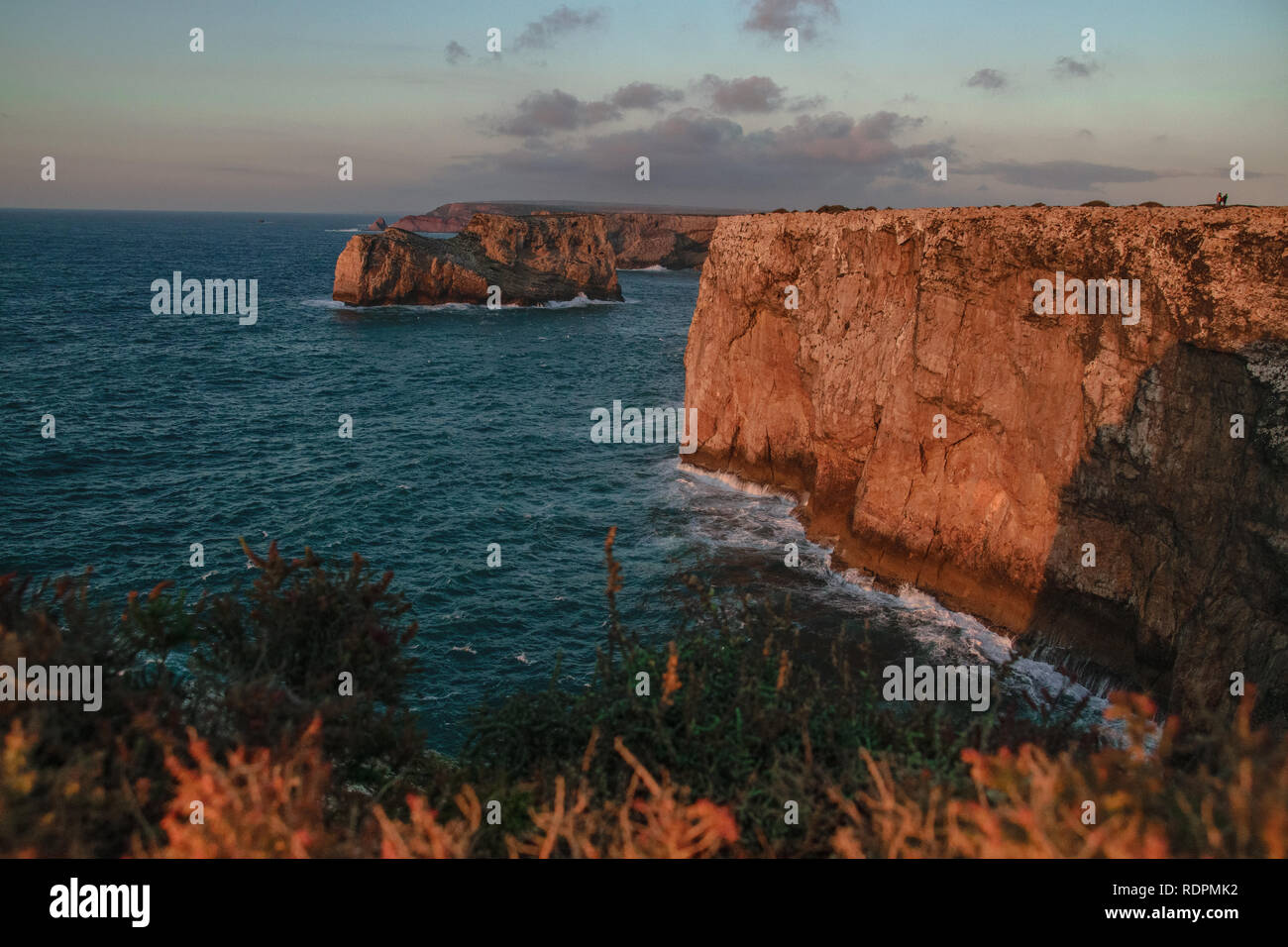 Cliffs of Portugal - Stock Image