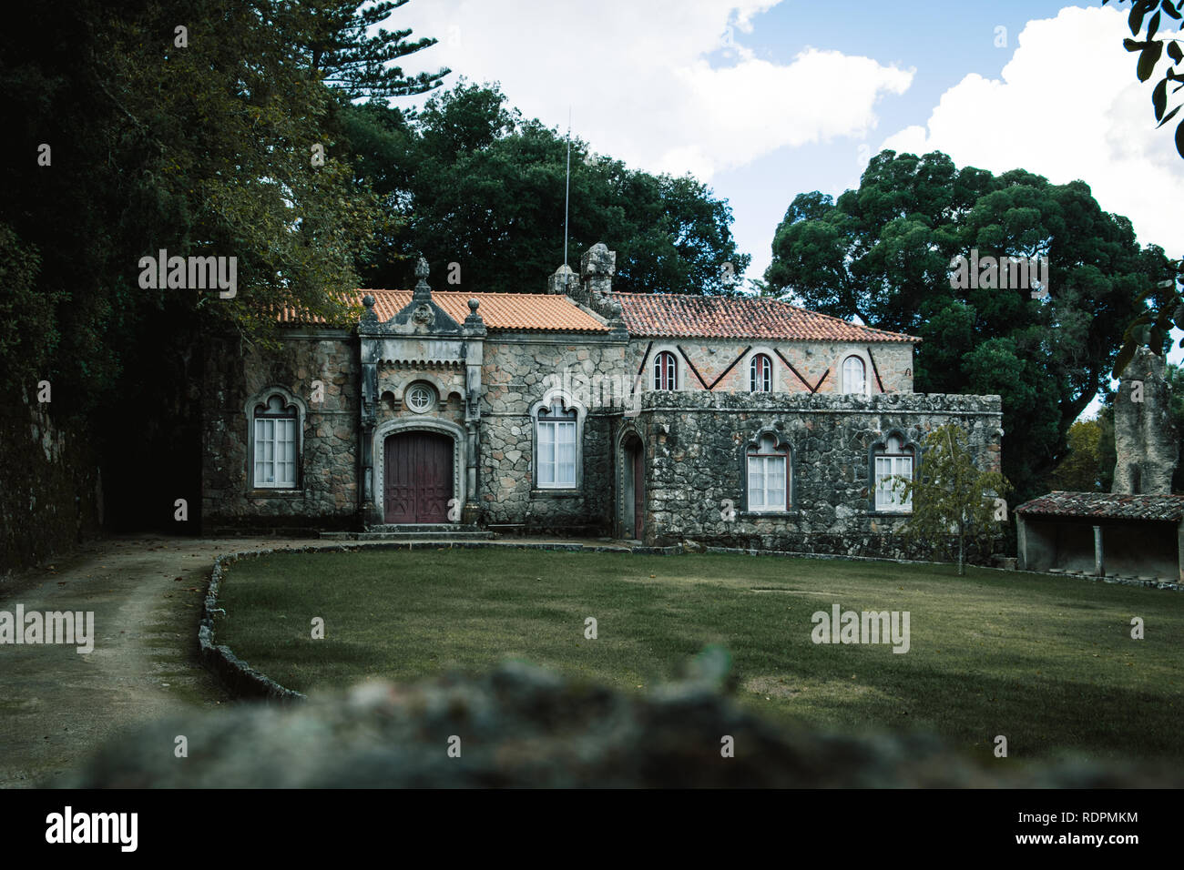 House in Sintra - Stock Image