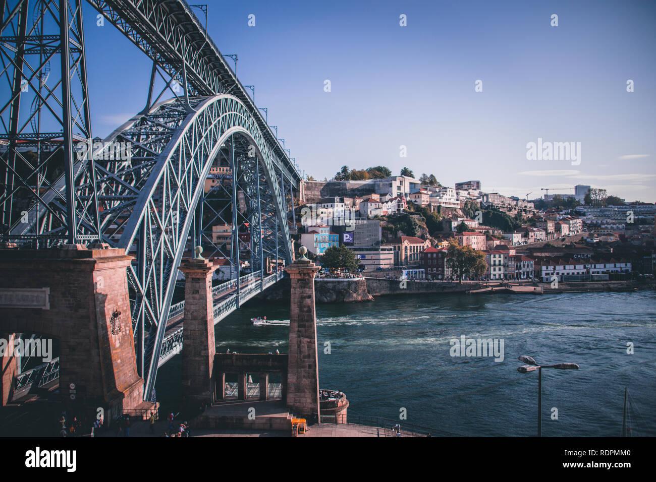 Skyline of Porto - Stock Image