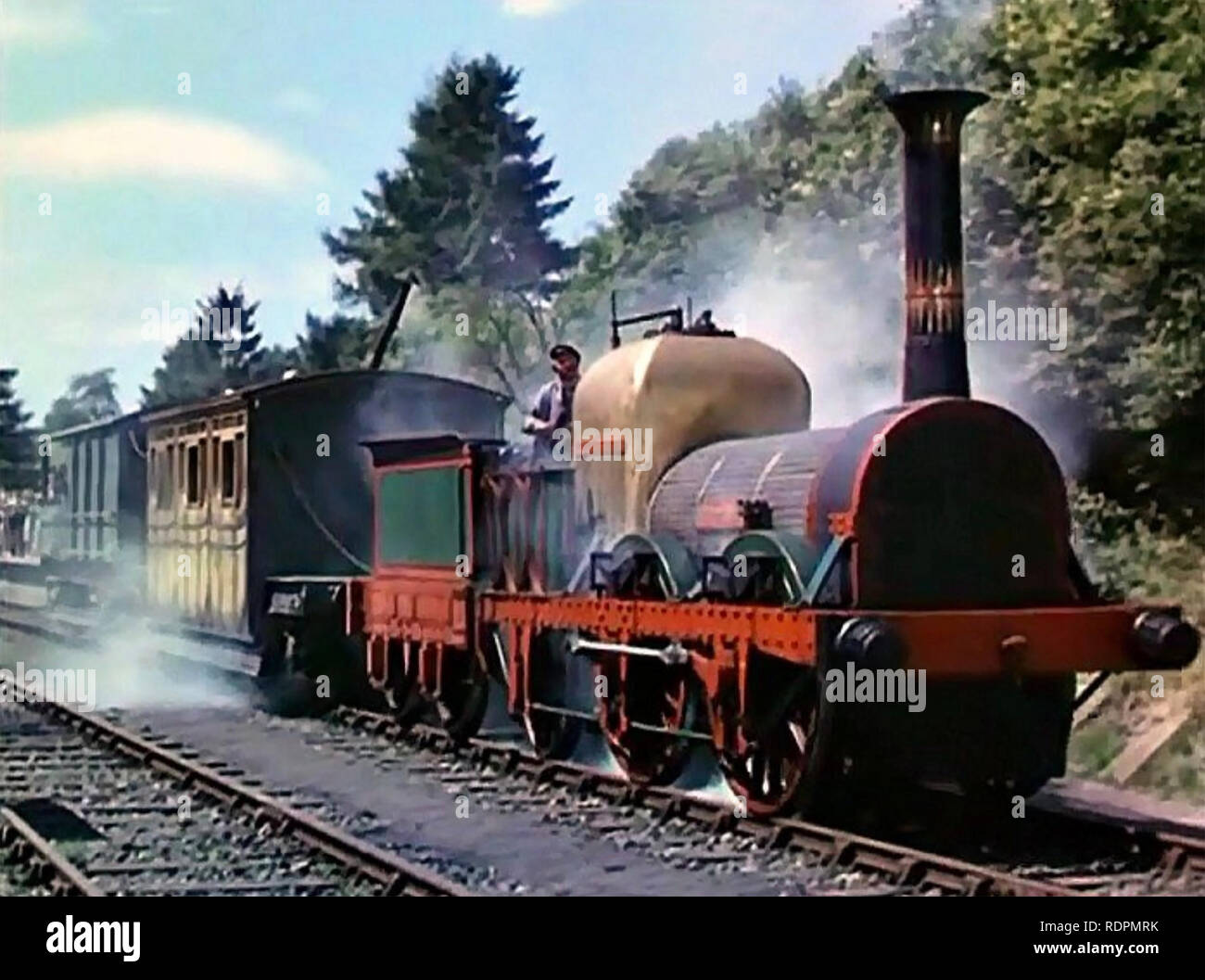 THE TITFIELD THUNDERBOLT 1953 Ealing Studios film - Stock Image