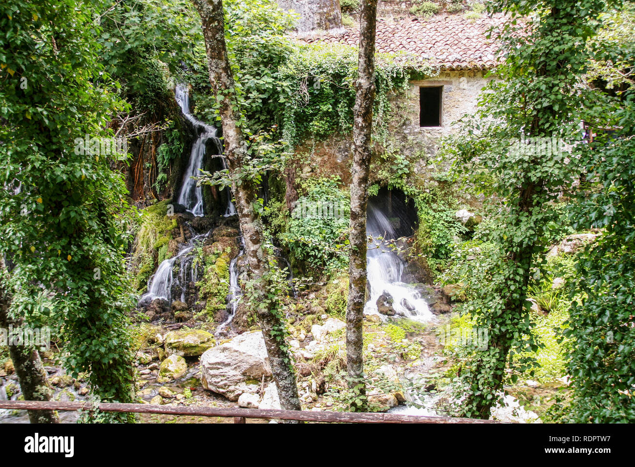 Maloja SalernoM Waterfall