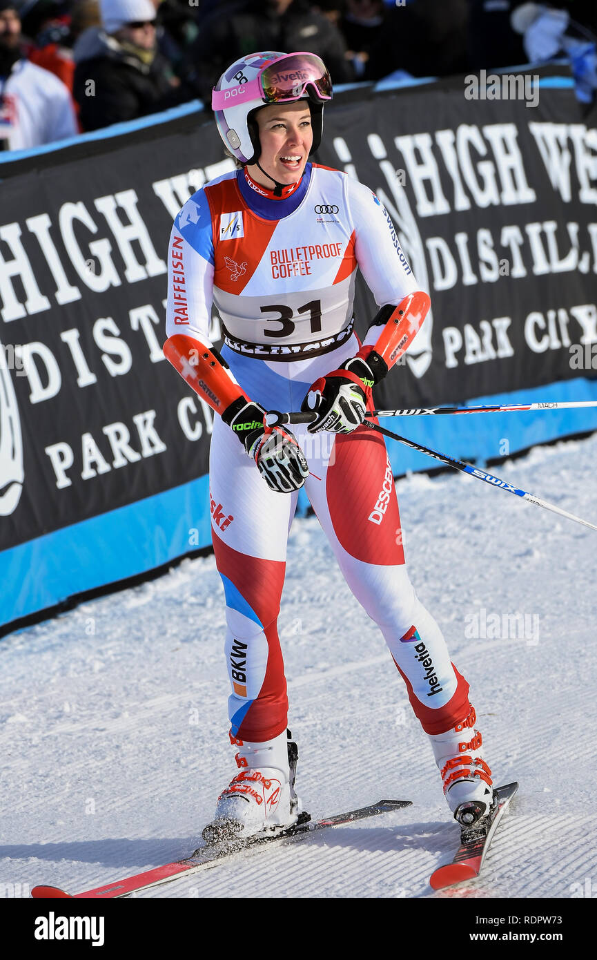 Killington Vermont November 24 Michelle Gisin Of Sui Competes In The First Run Of The Giant Slalom At The Audi Fis Ski World Cup Stock Photo Alamy