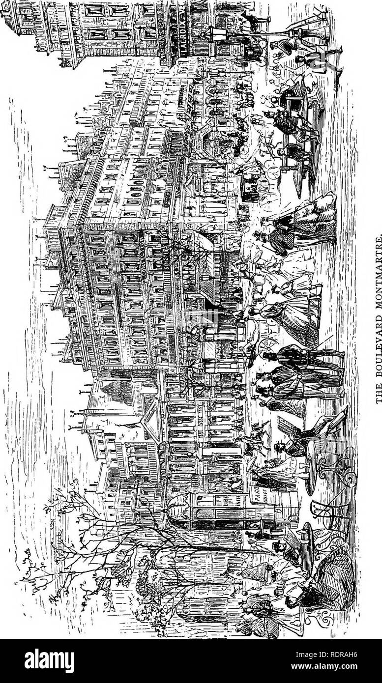 . The parks, promenades, & gardens of Paris, described and considered in relation to the wants of our own cities, and the public and private gardens. Gardens; Parks. . Please note that these images are extracted from scanned page images that may have been digitally enhanced for readability - coloration and appearance of these illustrations may not perfectly resemble the original work.. Robinson, W. (William), 1838-1935. London, J. Murray - Stock Image