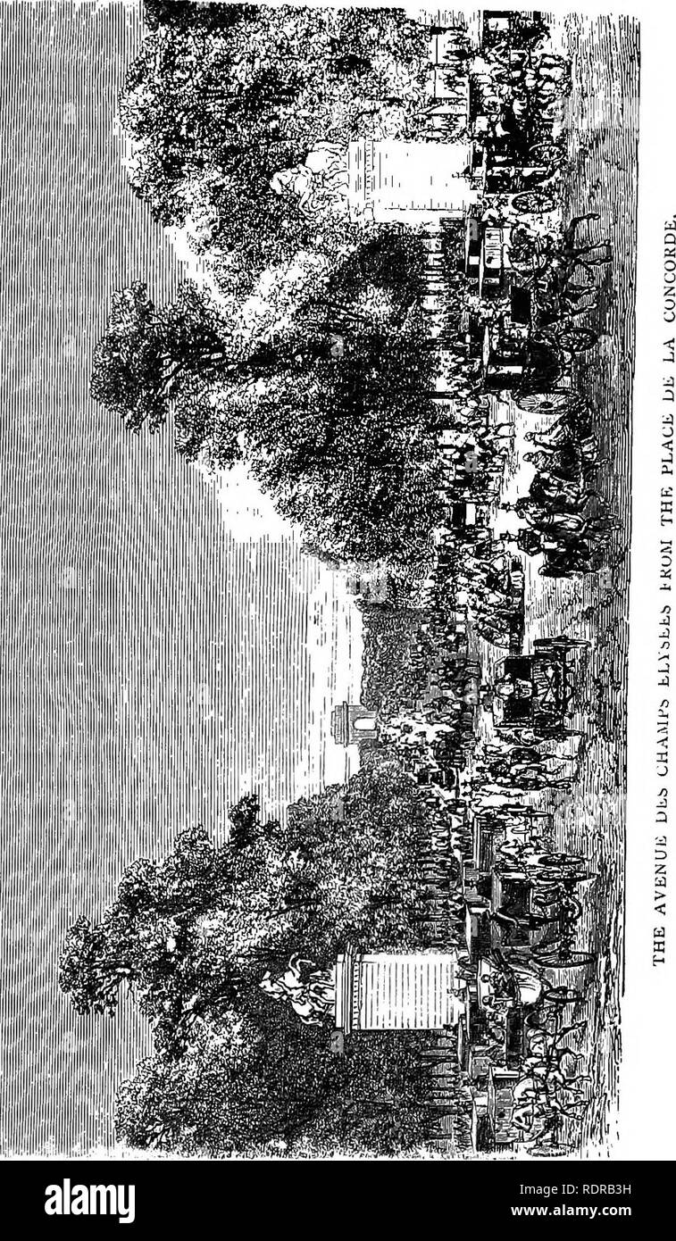 . The parks, promenades, & gardens of Paris, described and considered in relation to the wants of our own cities, and the public and private gardens. Gardens; Parks. lifiiiiiitiitlf. Please note that these images are extracted from scanned page images that may have been digitally enhanced for readability - coloration and appearance of these illustrations may not perfectly resemble the original work.. Robinson, W. (William), 1838-1935. London, J. Murray - Stock Image