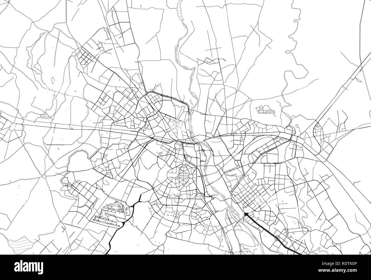 India Map Black and White Stock Photos & Images - Alamy