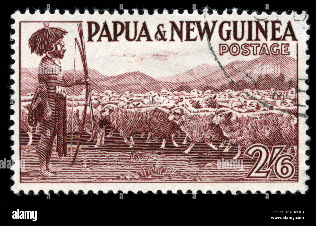 Postage Stamp From Papua New Guinea In The Pictorial