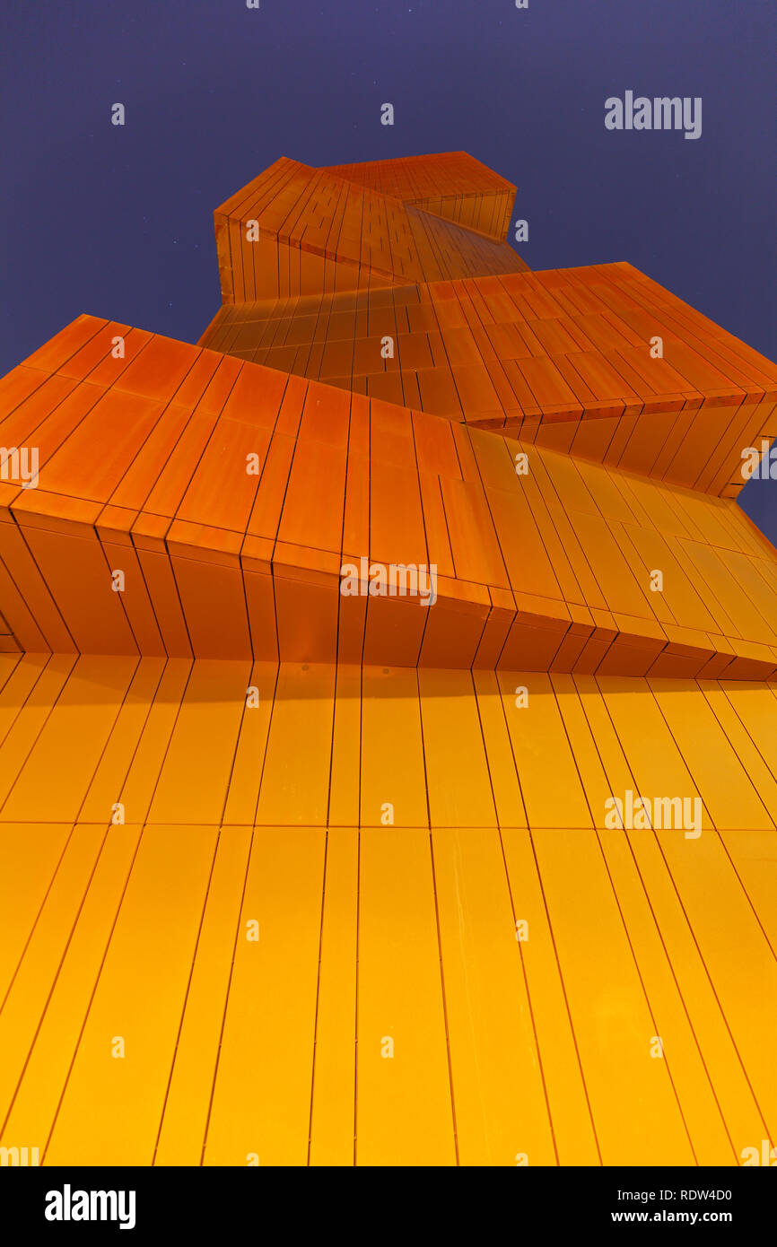 Broadcasting Tower in Leeds - Stock Image