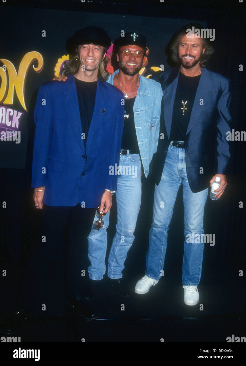 Brothers Robin And Maurice Gibb High Resolution Stock Photography And Images Alamy