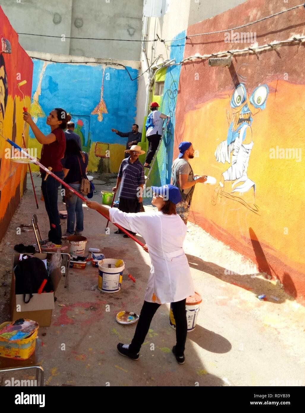 Artistes peintre. - Stock Image